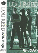 LOU REED NEW YORK CASSETTE ALBUM SIRE CLASSIC ART ROCK