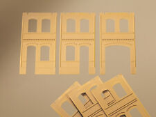 Auhagen h0 système modulaire 80607: 6 murs 2322b, 2322c, 2323c, jaune