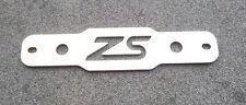 FIESTA ZETEC S MK7/8/9 CUSTOM BRUSHED STAINLESS STEEL BATTERY CLAMP/TIE DOWN