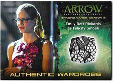 Arrow Season 2 Relic Wardrobe Costume Card M13 M-13 Felicity Smoak Mesh Variant