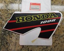NEW Genuine Honda 2001 XR100R Right Side Decal