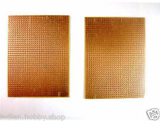 (3x4 Inch / 7.5x10 cm) Blank PCB - [2 Pieces] DIY Perforated Prototype Board