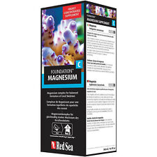 New listing Red Sea Reef Foundation C 500mL Magnesium Liquid Supplement Free Usa Shipping