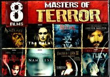 Masters Of Terror. 8 Modern Horror Film Set. Brand New In Shrink!