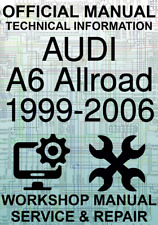 #OFFICIAL WORKSHOP MANUAL SERVICE & REPAIR AUDI A6 ALLROAD 1999-2006