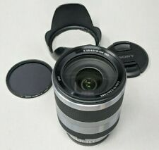 Sony SEL18200 18-200mm F3.5-6.3 OSS E-mount Zoom Lens Silver - plus Filter