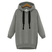 Women's Winter Autumn Hoodie Sweatshirt Hooded Jumper Sweater Pullover Tops Coat