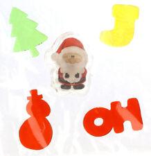 MagicGel Fensterbilder Weihnachten Santa mit LED Beleuchtung