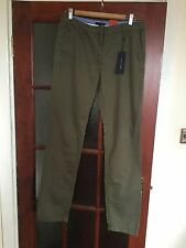 Tommy Hilfiger Cotton Chinos 32L Trousers for Women