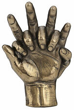 Bronzed Hands Entwined Lovers Statue Sculpture BRONZE ANNIVERSARY GIFT WEDDING