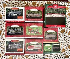 Lot Of 10 Hallmark Lionel/Silver Star Train Collector's Series Ornaments New 1-5