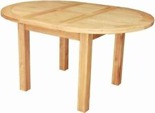 Solid Wood Oval Kitchen & Dining Tables with Extending