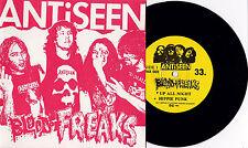 """Antiseen -Blood Of Freaks 7"""" GG Allin Murder Junkies Hellstomper Hammerlock Zeke"""