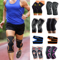 Knee Compression Sleeves Support Copper Brace For Running Gym Sports Joint Pad