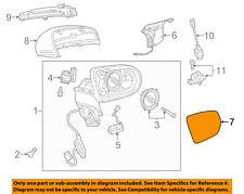 Mercedes MERCEDES-BENZ OEM Door Rear Side View-Mirror Glass Right 0998101016