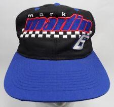 VTG Logo 7 Snapback Hat Nascar Hat Mark Martin #6 Valvoline Racing Hat