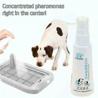 60ml Dog Potty Training Aid Puppy Cat Pet Toilet Training G2Y0 Spray Practi B0T8