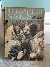 1948 Pre-Raphaelite Painters Art Book  Phaidon Press Robin Ironside 110 Repros