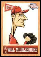 2013 Triple Play Will Middlebrooks #10