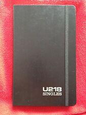 U2 18 SINGLES MOLESKIN LEATHER Note Book / Pad Rare Promo #
