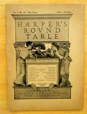 Maxfield Parrish Cover Art Complete HARPER'S ROUND TABLE August 1898 Vol.1.No.10