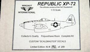 Wingnut International Republic XP-72 Resin 1/72 190 of 200