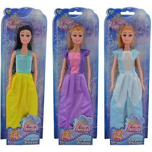 Girls My Fairy-tale Princess Dolls Cinderella Rapunzel Snow White Fashionista