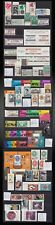 1966 -1969  MEXICO LOT POSTAGE + AIR POST LOT NEVER HINGED SCOTT VALUE 65US$