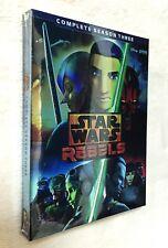 Star Wars Rebels: The Complete Season 3 (DVD, 2017, 4-Disc Set, Subtitled)