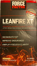 Force Factor Leanfire XT Advanced Thermovigilance Formula, 60 Caps BB 9/20
