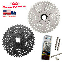 US 8speed 11-40T CSM680 Mountain Bike Sprocket  X8.93Chain Cassette Adapter Cogs