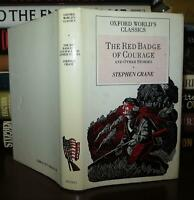 Crane, Stephen RED BADGE OF COURAGE And Other Stories 1st Edition Thus 1st Print