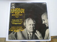 beethoven concerto n 5 l empereur furtwaengler/edwin fischer lp classique rare