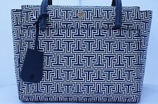 100 Authentic Tory Burch Fleming Chain Crossbody Bag in Symphony Blue