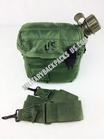 NEW Military 2Qt Insulated Pouch W/O Canteen Water Bottle Hunting Hiking