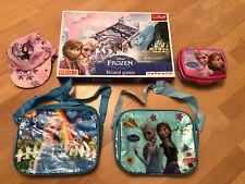 Disney Frozen Bags, Lunch Box & Game Bundle