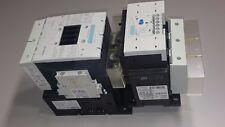 SIEMENS 150 HP 195 AMP MOTOR STARTER 3RT1055-6...6 OVERLOAD 3RB2056-1FC2