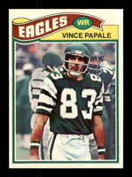 1977 Topps #397 Vince Papale NM/NM+ RC Rookie Eagles 505442