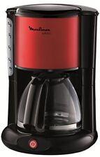 Moulinex Fg360d Glas-kaffeemaschine Subito Rot Metallic /schwarz