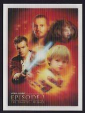 Star Wars Episode I The Phantom Menace Postcard Australia Post Holographic Card