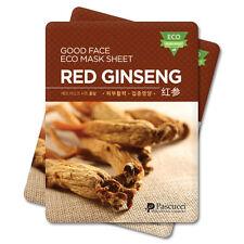 Korean Essence Eco Mask Sheet RED GINSENG Moisture Skin Care Facial Pack 6EA