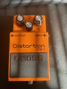 Boss Ds1 Ds-1 Guitar Distortion Pedal