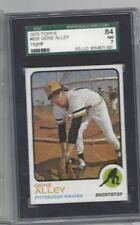 1973 Topps baseball card #635 Gene Alley Pittsburgh Pirates graded SGC 84 NM 7