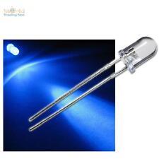 """1000 LEDs wasserklar BLAU, blaue LED Typ """"WTN-5-8000b"""" +  Zubehör 12 Volt, blue"""