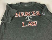 Mercer School Of Law T-Shirt Adult SZ M/L Georgia Student Alumni Champion Bears