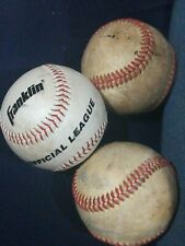 3 playball ball  syntex cover cork/rubber core 5 oz/9in