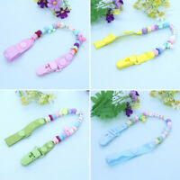 1x Baby Silicone Pacifier Chain Clip Pacifier Clips Anti-out Anti-lost Cute Gift