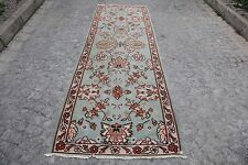 TURKISH KILIM,HALLWAY SIZE,GREAT DESIGN.kilim rug runner,Flower design kilim