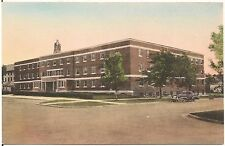 West Men's Hall at South Dakota State College in Brookings SD Postcard