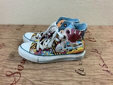 Converse All Star Peace And Love Womens High Top Rare Sneaker Shoes Size 6